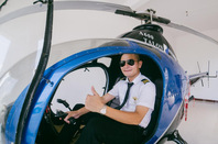 广东惠州英语老师掏百万购直升机 自称非富二代