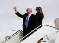 特朗普及全家抵达华盛顿准备宣誓就职