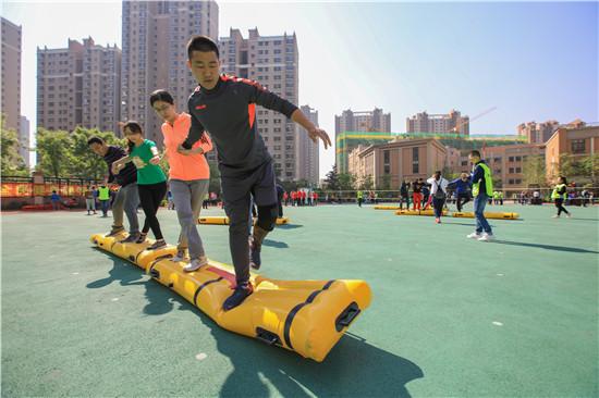 天桥区全民健身趣味运动会 800余人参与活动