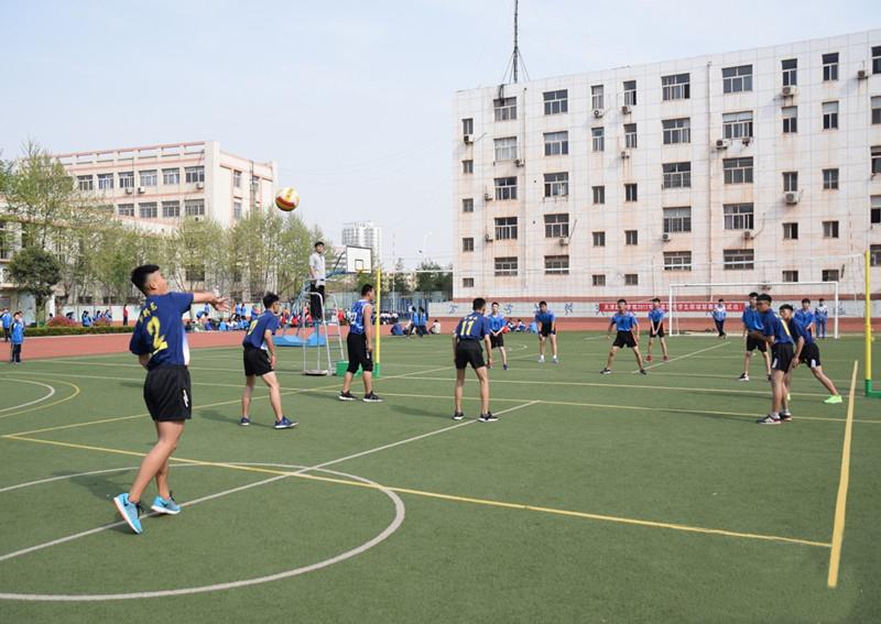 日照东港区2017年中学生排球联赛成功举行