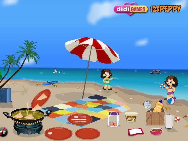 好玩的游戏推荐:《海滩制作苹果馅饼》