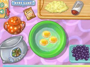 好玩的游戏推荐:《蓝莓松饼的做法》