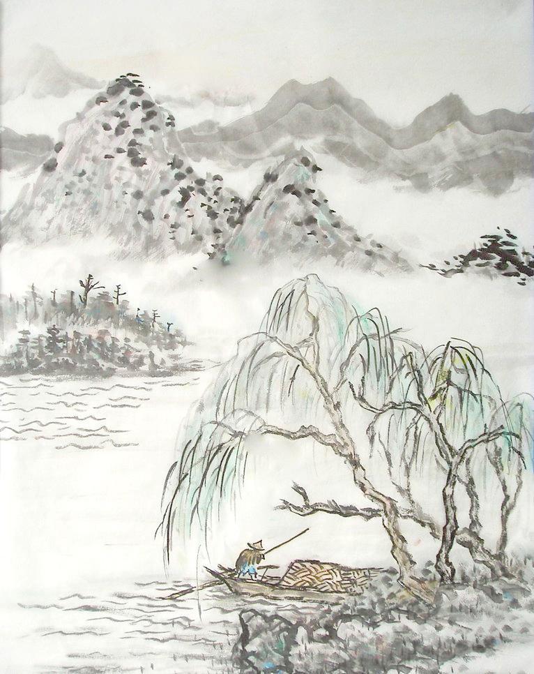 了解中国山水画的起源