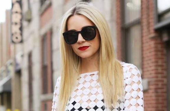 墨镜很时尚很酷,夏天带很适合,时髦潮人必备!