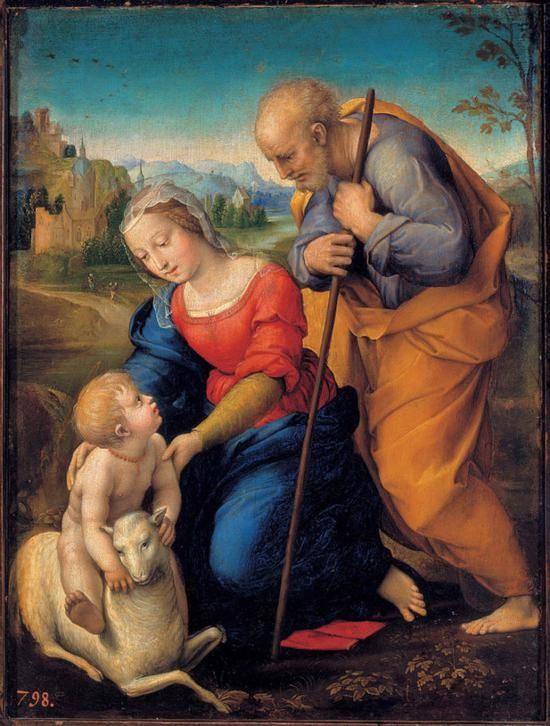 """拉斐尔""""圣母像""""的艺术美与生活之丑"""