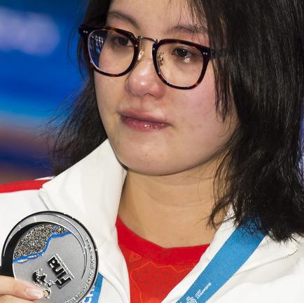世锦赛女子50米仰泳决赛 傅园慧摘银