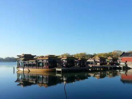 颐和园,记忆中的那片蓝