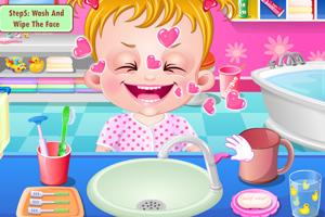 好玩的游戏推荐《可爱宝贝刷刷牙》