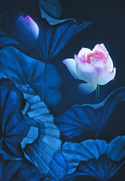 生命万千花卉间--艺术美
