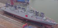 美媒称中国055大驱火力不输美舰 最早2018年入役