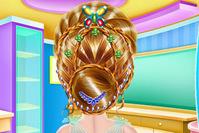 好玩的游戏推荐《女孩编织发型》