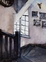 跟随画家的笔触,寻找和徐汇老洋房有关的记忆