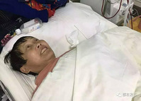 湖南邵东高中女生扶摔倒老人送医:相信人都是善良的