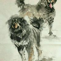 一位生活智者,画出了狗的心声,更画出了人生活的意义